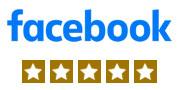 facebook - 5 stars