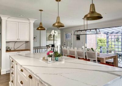 Magnolia Whole House Remodel - Kitchen Island