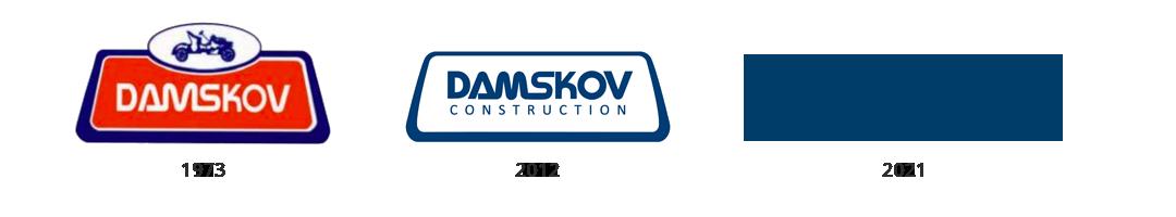 Damskov Logo Evolution