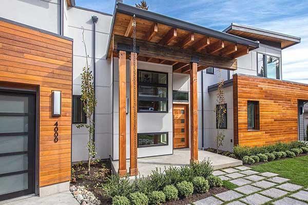 Contemporary Single-Family Custom Home in Mercer Island, WA